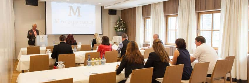 Meetings and incentives at the Hotel Metzgerwirt