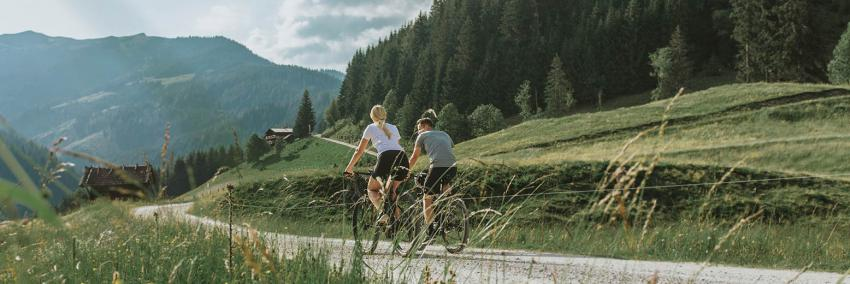 Mountainbiken in St. Veit